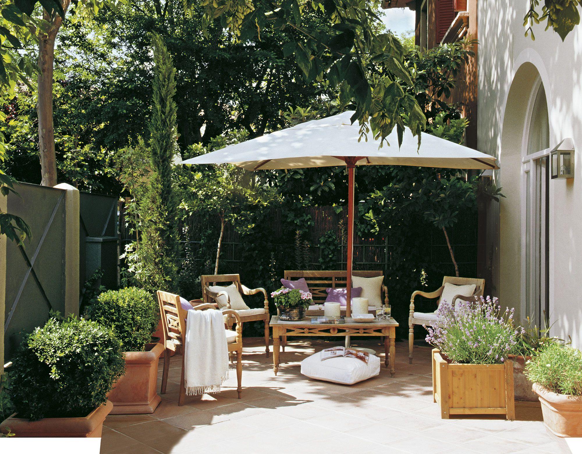 Un patio para disfrutar El Mueble Pinterest