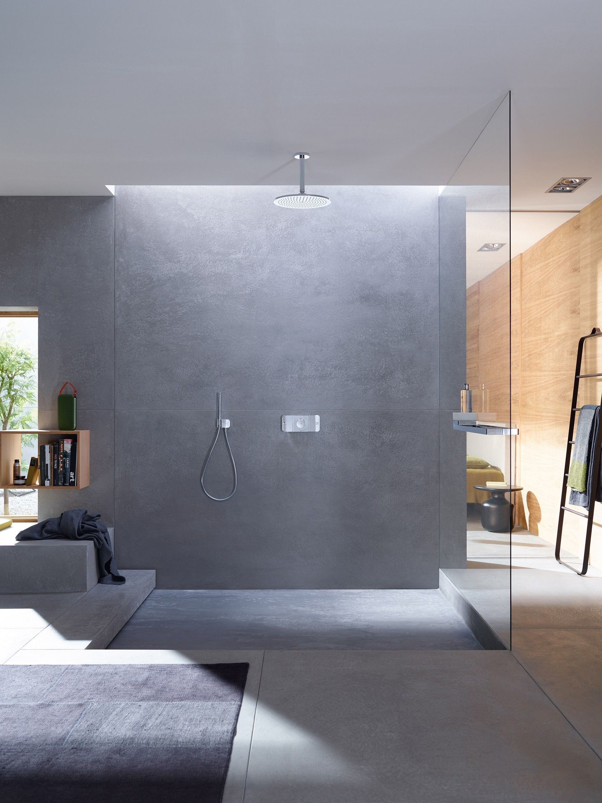axor one designed by barber osgerby by hansgrohe se - Hansgrohe Wasserfall Dusche