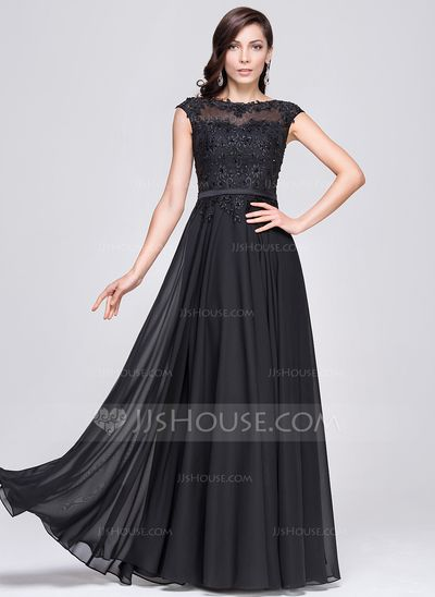 Princess line evening dresses