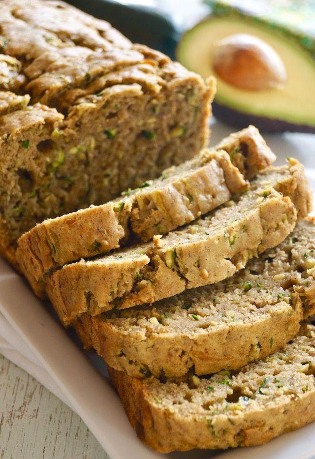 avocado zucchini bread  recipe  food recipes bread
