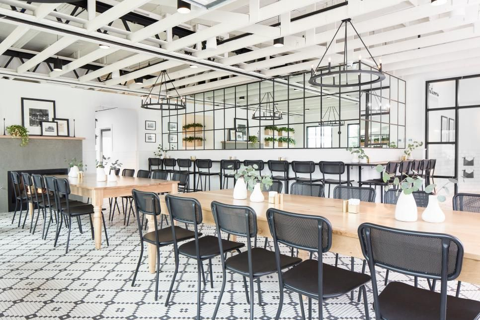 A Delicious Fixer Upper Chip And Jo S Magnolia Table Restaurant Hgtv S Fixer Upper With Chip And Joa Magnolia Table Restaurant Fixer Upper White Dining Room