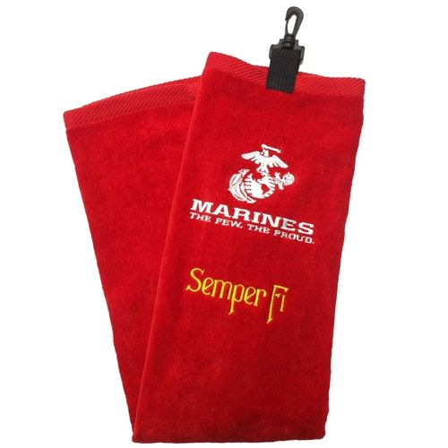 fe0a9c595e US Marine Corps Military Tri Fold Golf Bag Towel by Ray Cook Golf. Buy it    ReadyGolf.com