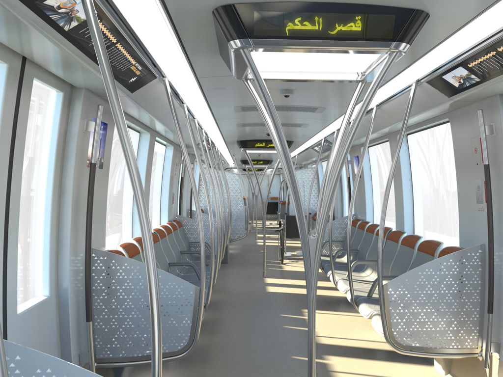 SAUDI ARABIA Bombardier Transportation Has Presented The Final Designs For Its Riyadh Metro Line 3