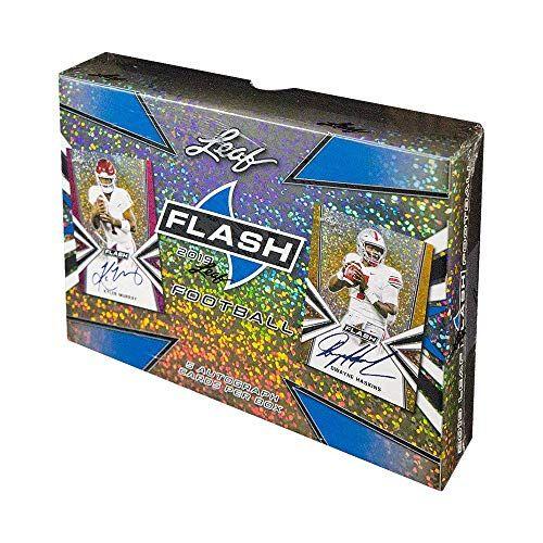 2019 Leaf Flash Hobby Football Box