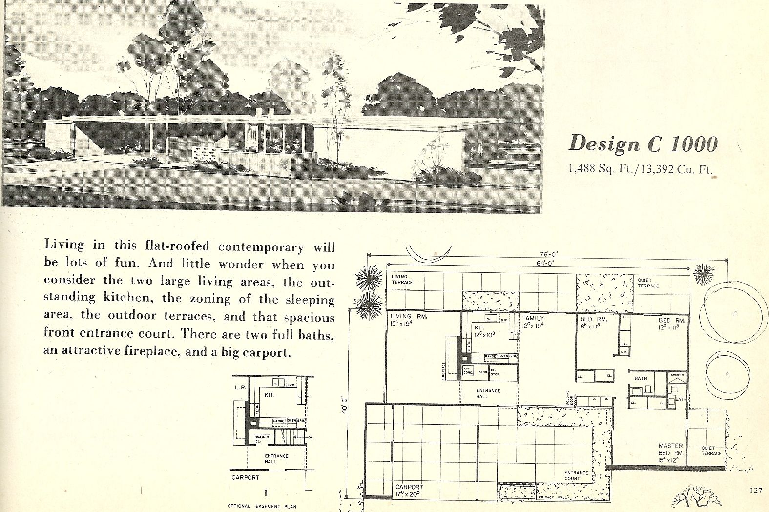 house plans modern houses and vintage house plans on pinterest