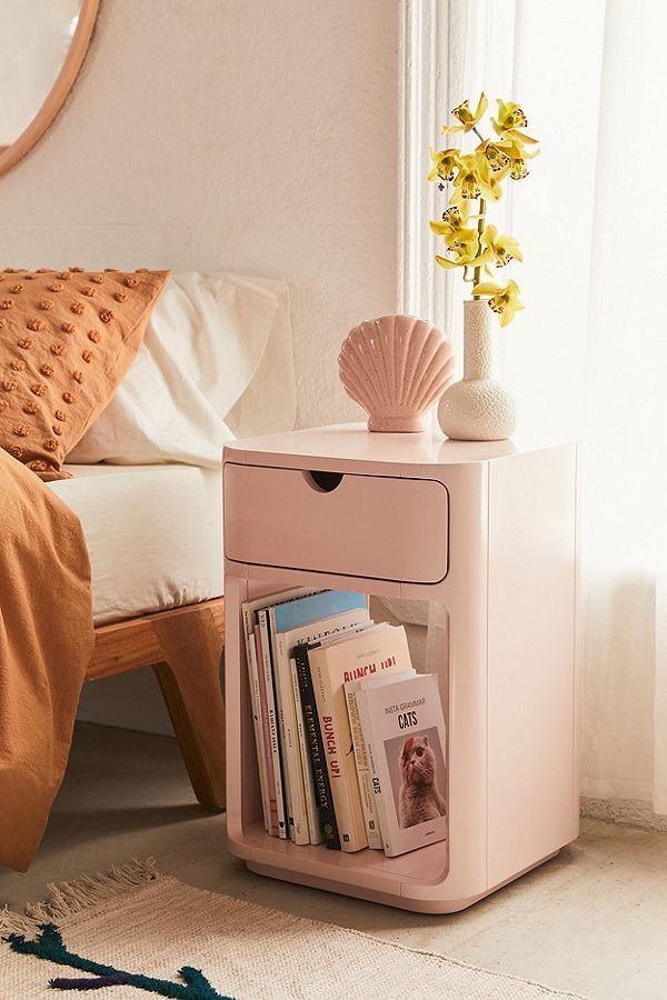 Aubrey Nightstand | Urban outfitters home, Bed furniture ...