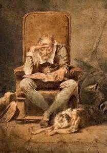 Old Man Reading artwork - Bing Images