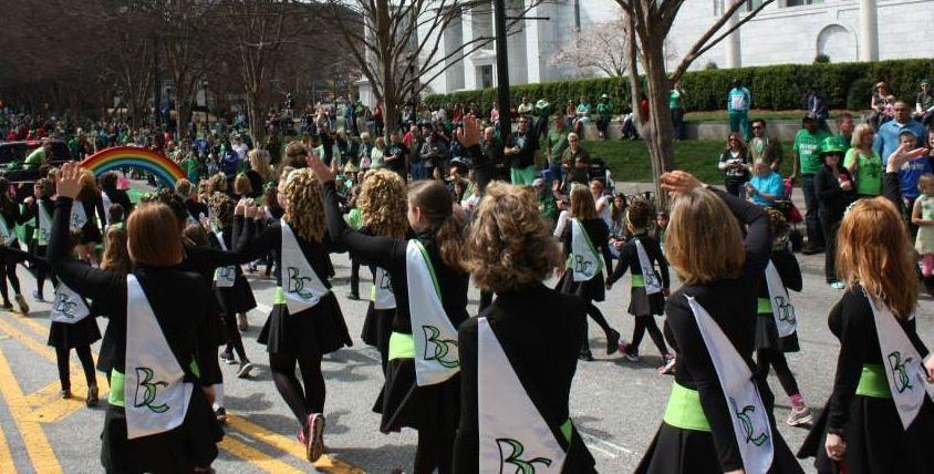 St Patrick S Day Parade 2014 Burke Connolly Irish Dance Irish Dance Dance Atlanta