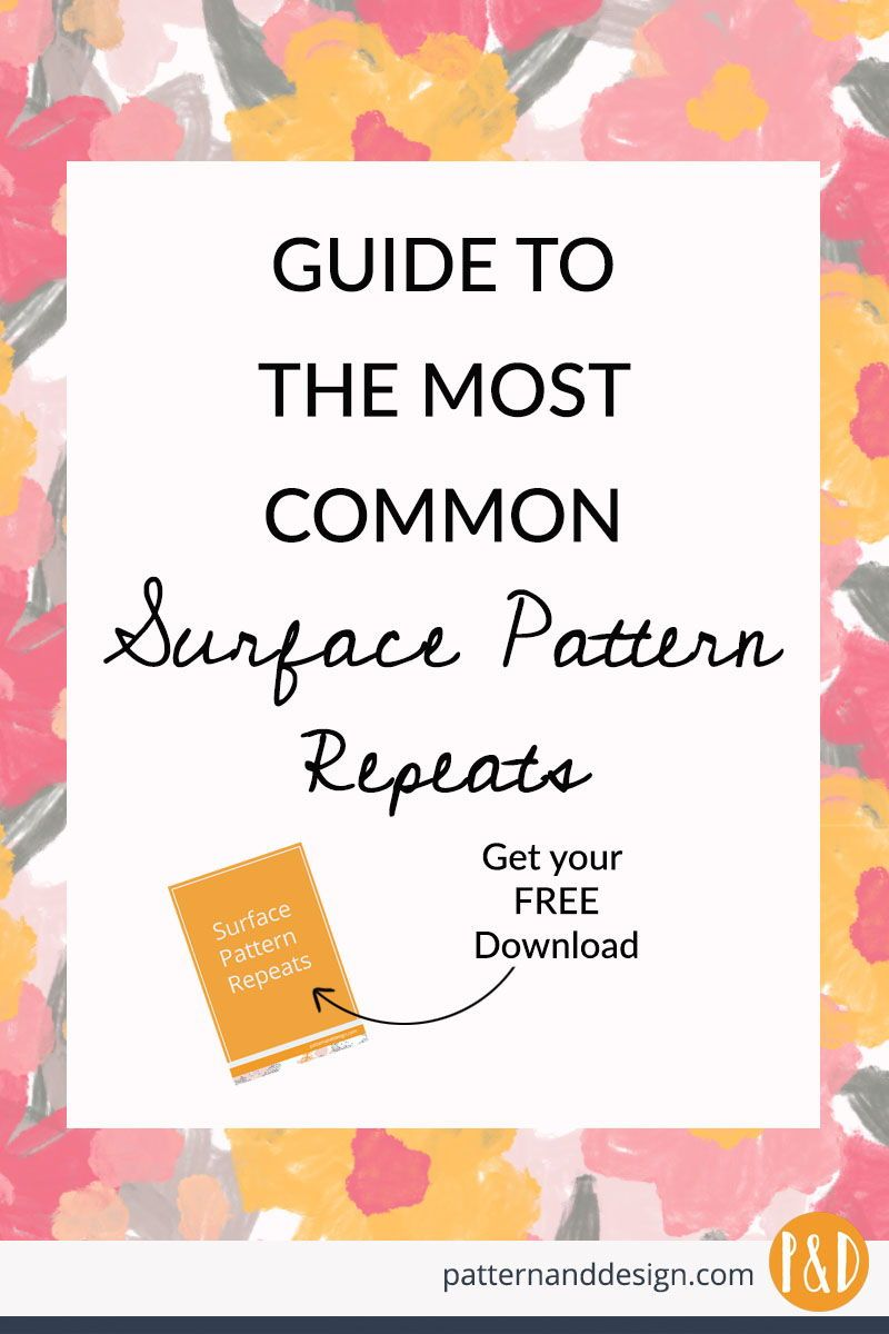 How To Create The Most Common Surface Pattern Repeats Surface