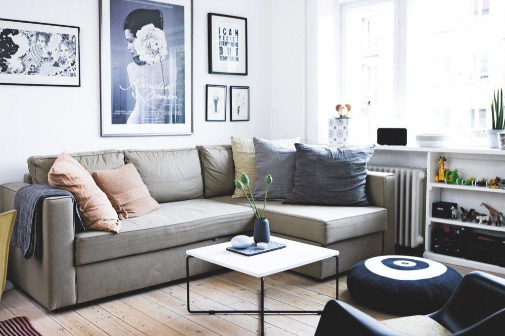 Sådan indretter man billigt og funktionelt - Bolig Magasinet. Puden - Janne Wendt