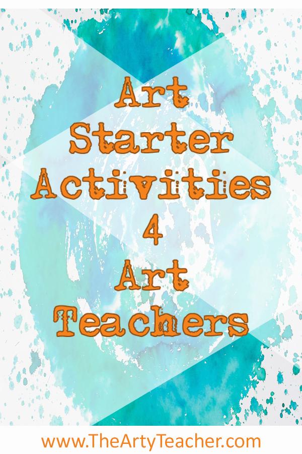 Art Lesson Starter Ideas