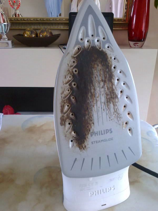 How To Remove Residue Or Burn Marks Off Your Iron Plate