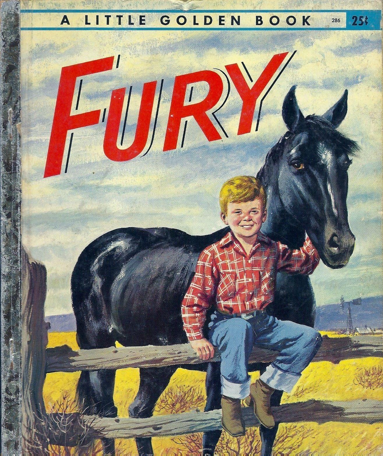 A Little Golden Book - Fury 1957