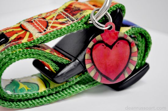 """""""Steal Your Heart"""" dog tag"""