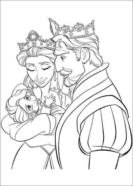 Disney Coloring Page Rapunzel Coloring Pages Tangled Coloring Pages