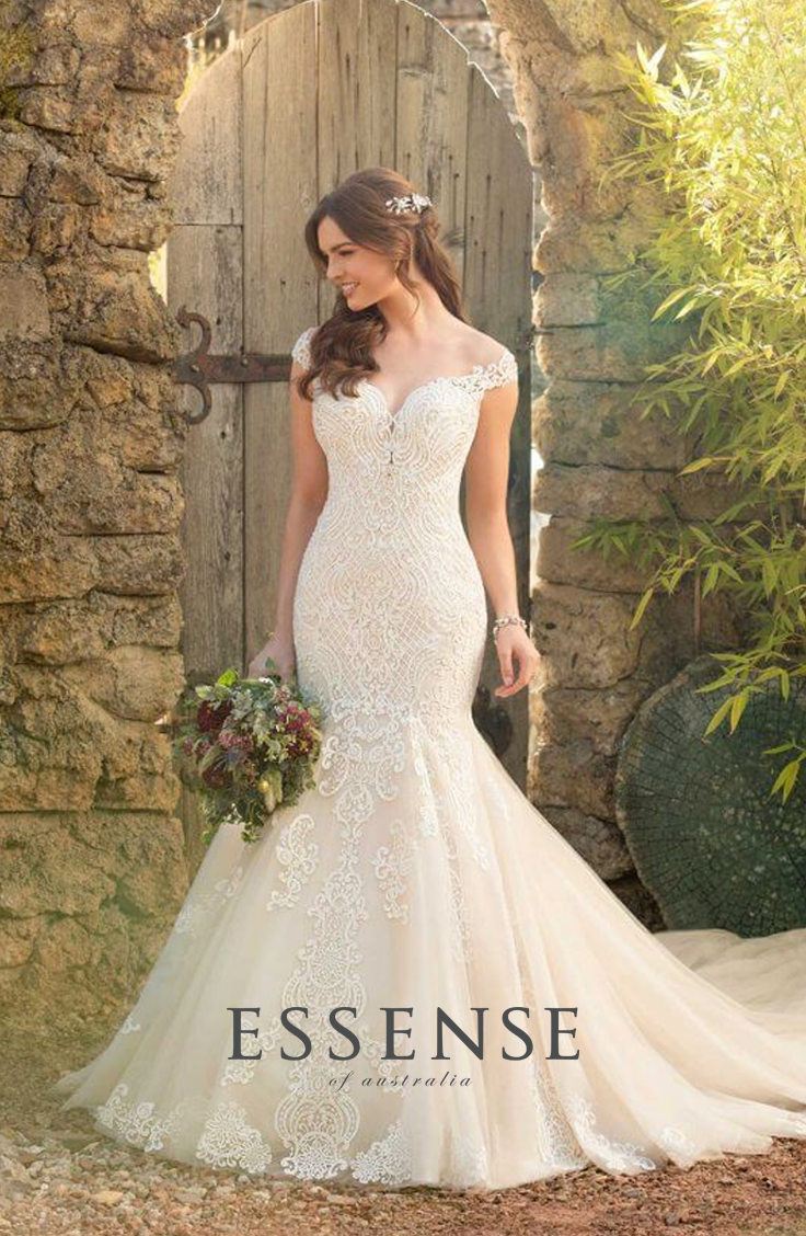 Something For Every Bride At Our Modern West End Ottawa Boutique Every Single With Images Essense Of Australia Wedding Dresses Mermaid Wedding Dress Wedding Dresses Lace