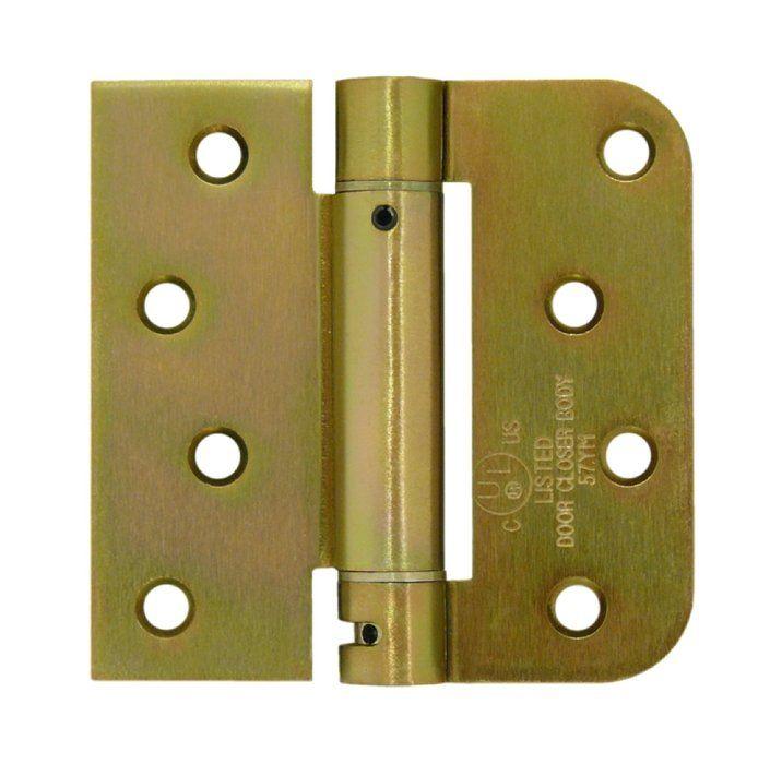 Deltana Dsh4r5tt Spring Door Hinge Door Hinges Door Accessories