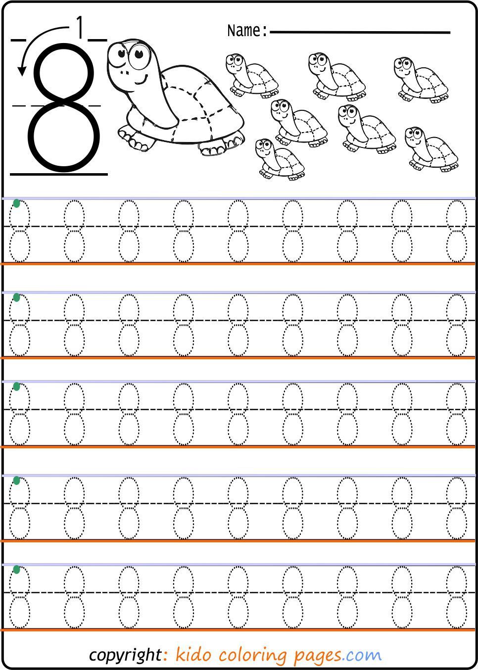 Number Tracing Worksheets Archives Kids Coloring Pageskids Coloring Pages Tracing Worksheets Numbers Kindergarten Kindergarten Worksheets Printable