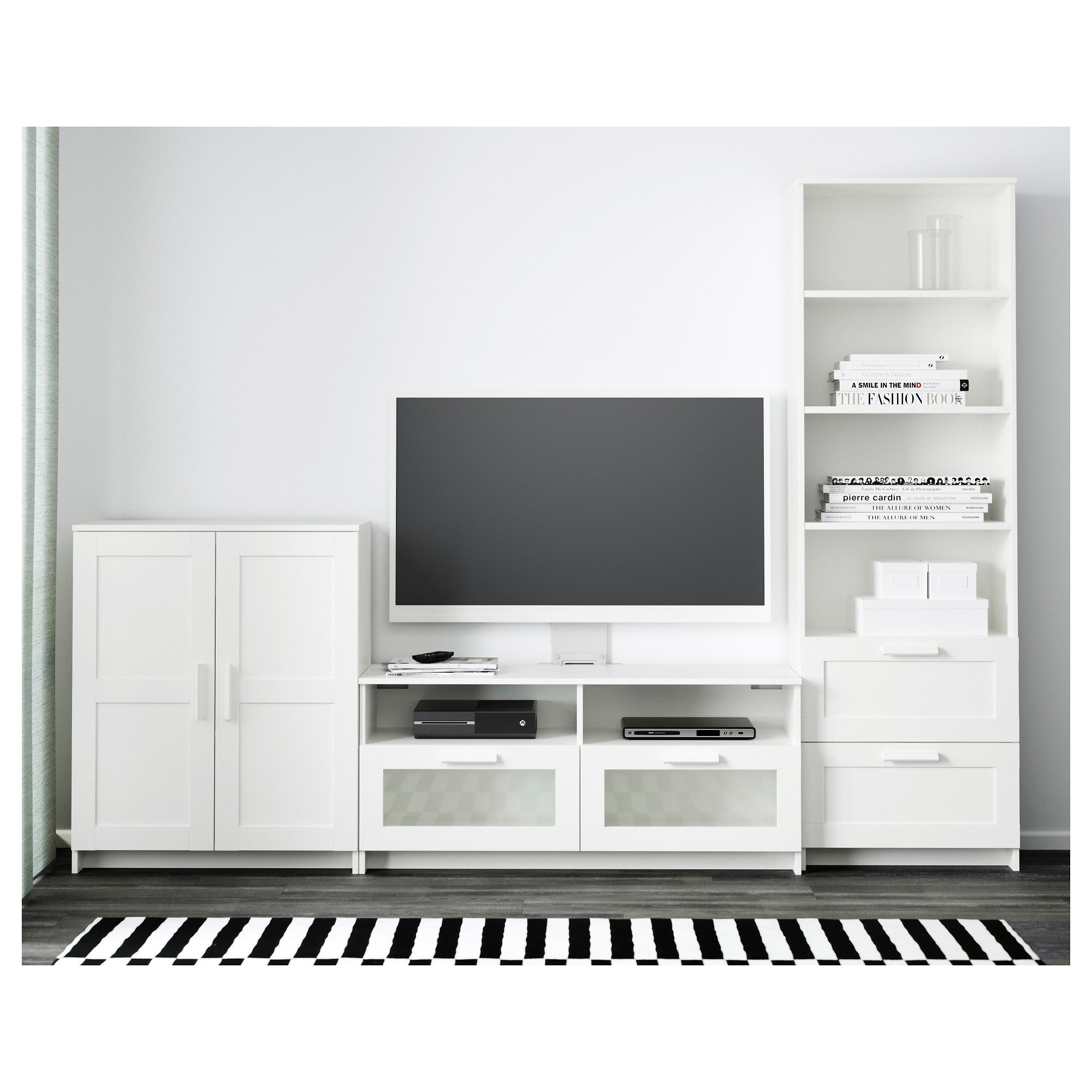 Estanteria Brimnes Ikea - Brimnes Tv Storage Combination White In 2019