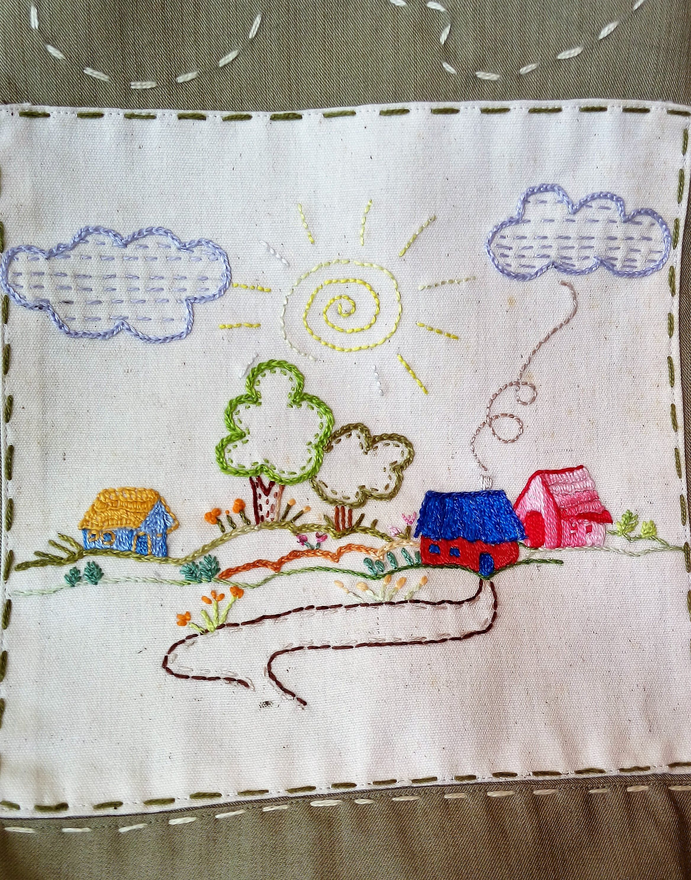 Bordados | Needle felting, stiches, embroidery | Pinterest | Bordado ...