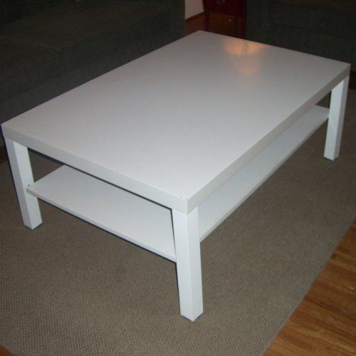 Lack Coffee Table In White Amazoncouk Kitchen Home