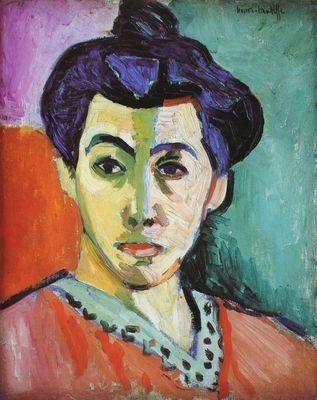 Henri MAtisse, Madame Matisse, 1905