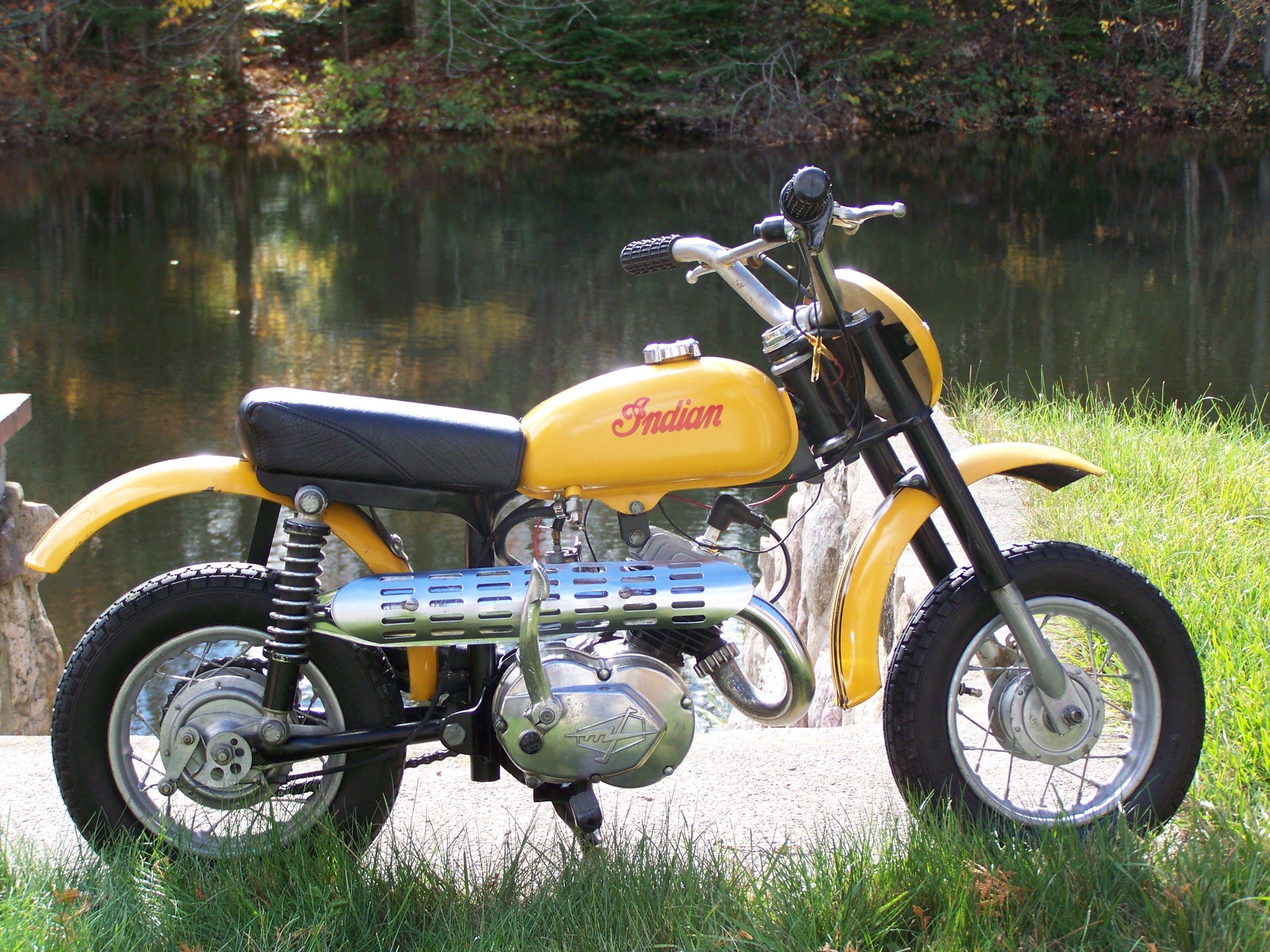 1969 Indian Mm5a Mini Bambino 49cc Mini Bike Vintage Motorcycles Beautiful Bike