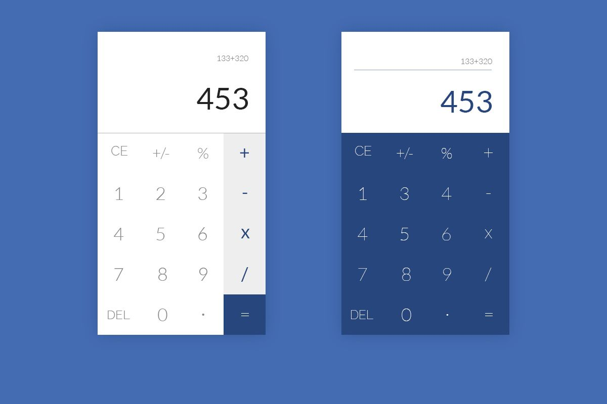 3rd design - Calculator screen Design Please leave a comment with your valuable feedback about the design. #webdesign #web #ui #userinterface #user #experience #designs #designers #webdesigners #materials #googleandroid #google_material #lolipop #portfolio #portfolios #work #agencylife #brand #dribbbleshot #dribbblers #dashboard #backend #webapp #graphicgang #becreatives #100daysui #uichallenge #calculatordesign #calculator