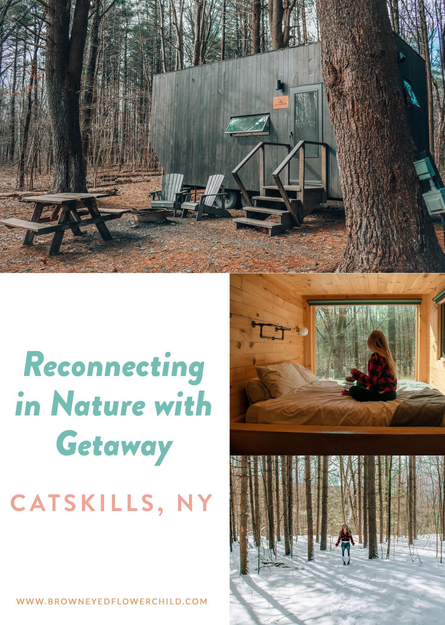 Reconnecting in the New York Catskills with Getaway #GetawayHouse #Getaway #NYCatskills #UpstateNewYork #Glamping