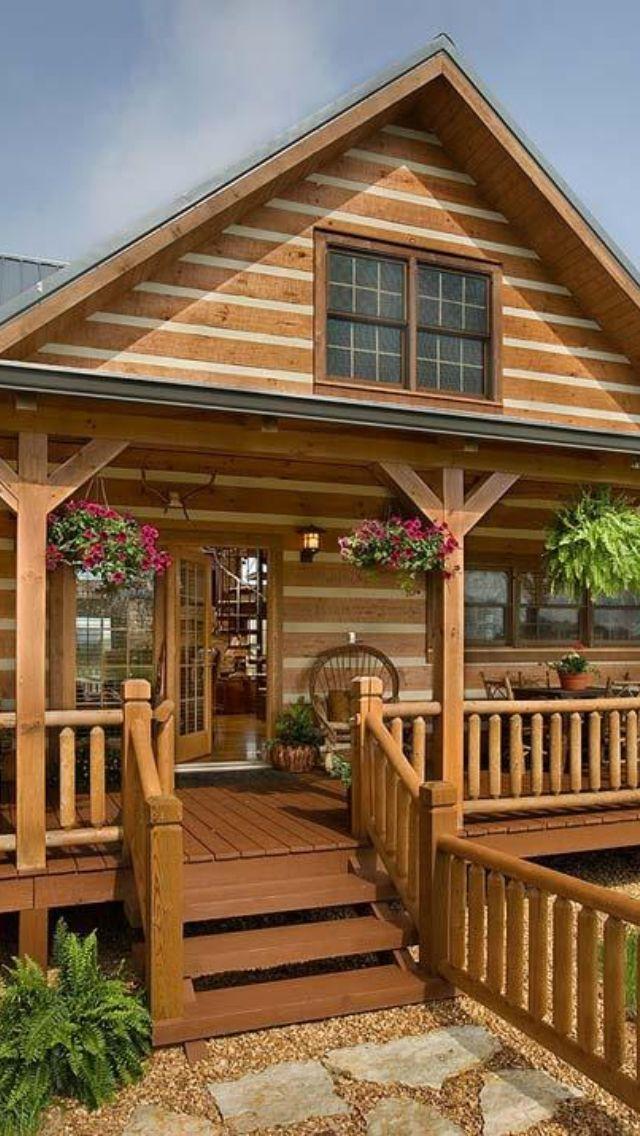 Pin de veronica en decorativo en 2019 casas fachadas de for Fachadas de cabanas rusticas