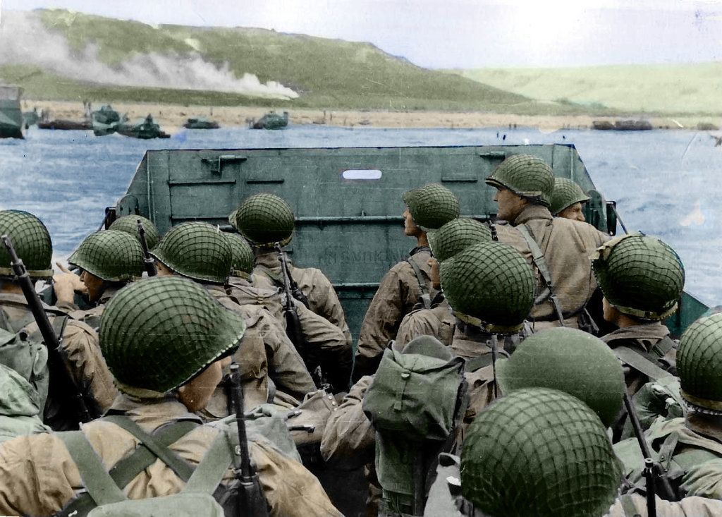 Pictures Of D Day In Color
