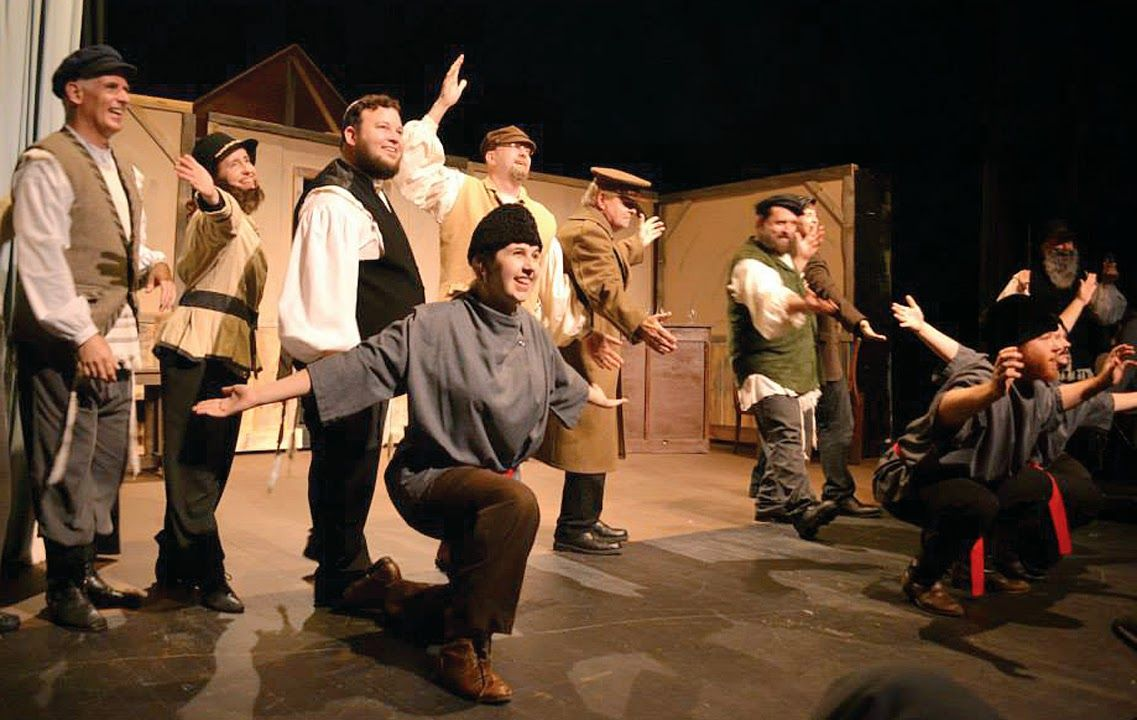 Fiddler on the Roof musical premiers in renovated