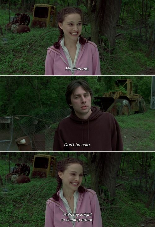 Garden State Love This Movie With Images Movie Quotes