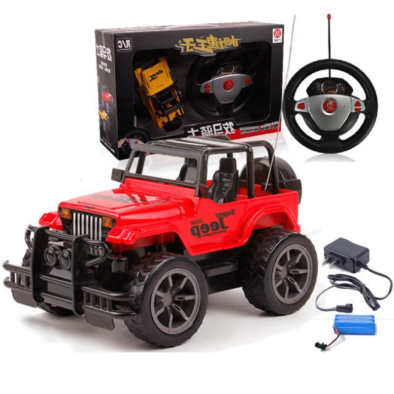 1:24 Fashion Remote Control Toys RC Car Electric Jeep Car For Kids ...