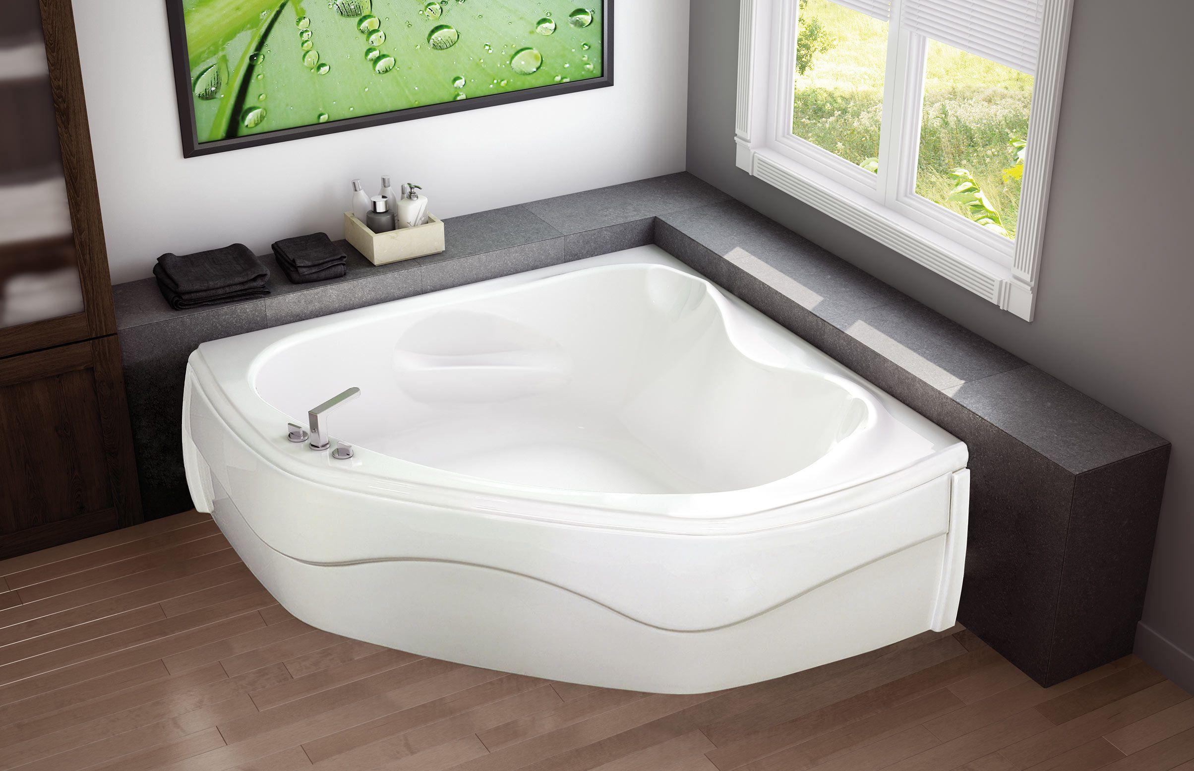 VICHY CORNER Corner or Drop-in bathtub - MAAX Collection | Master ...