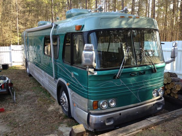1964 GM Bus Conversion Bus, Bus conversion, Rv bus