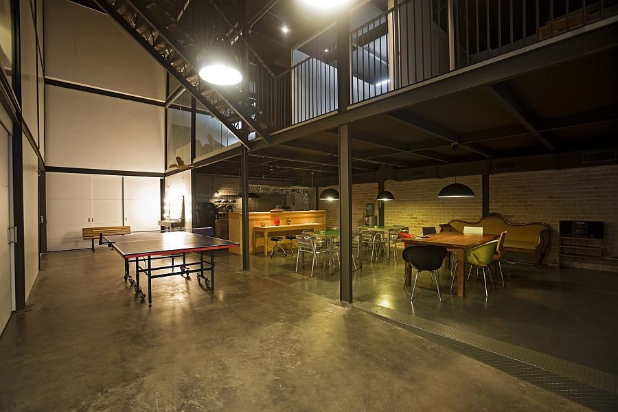 Warehouse office design Container Innovative Pblock Production Studio Design In Istanbul Pinterest Old Warehouses Make Stunning Office Spaces Office Space