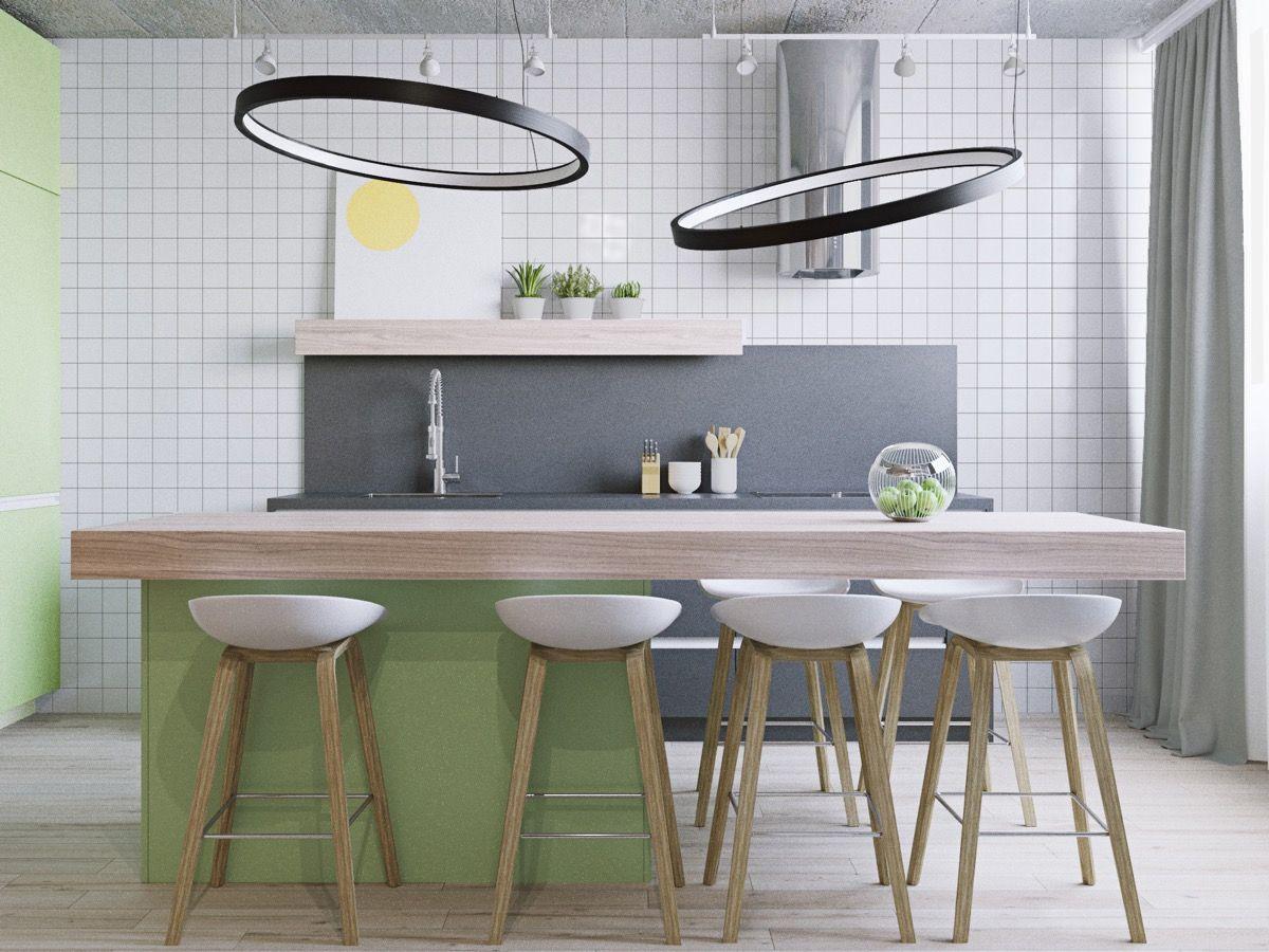 stunning modern kitchen island designs kitchen pinterest