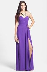6c89598704bd Faviana Sweetheart Chiffon Gown (Online Only) | Love to have | Prom ...