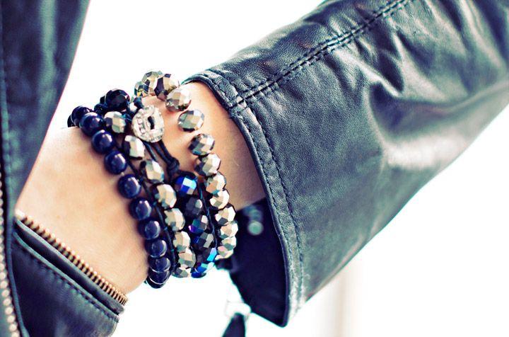 Diy Winter Wrap Bead Bracelets
