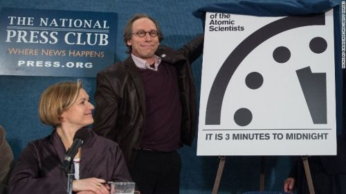 Doomsday Clock Stays At Three Minutes To Midnight Doomsdayclock Doomsdayclock Doomsday Clock Stays At Three Minute Doomsday Clock Doomsday Nuclear Winter