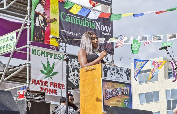 Activist Charlo Greene Detained At Canadian Border for 'Marijuana Residue' | #CannabisNow Magazine