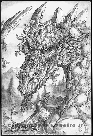 Earth Dragon Quot Gathering Quot 1 Of 4 By Ed Beard Jr Dragon