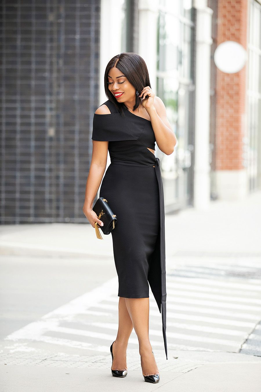 Summer Wedding Black Dress Www Jadore Fashion Com Summer Wedding Outfits Fashion Fashion For Petite Women