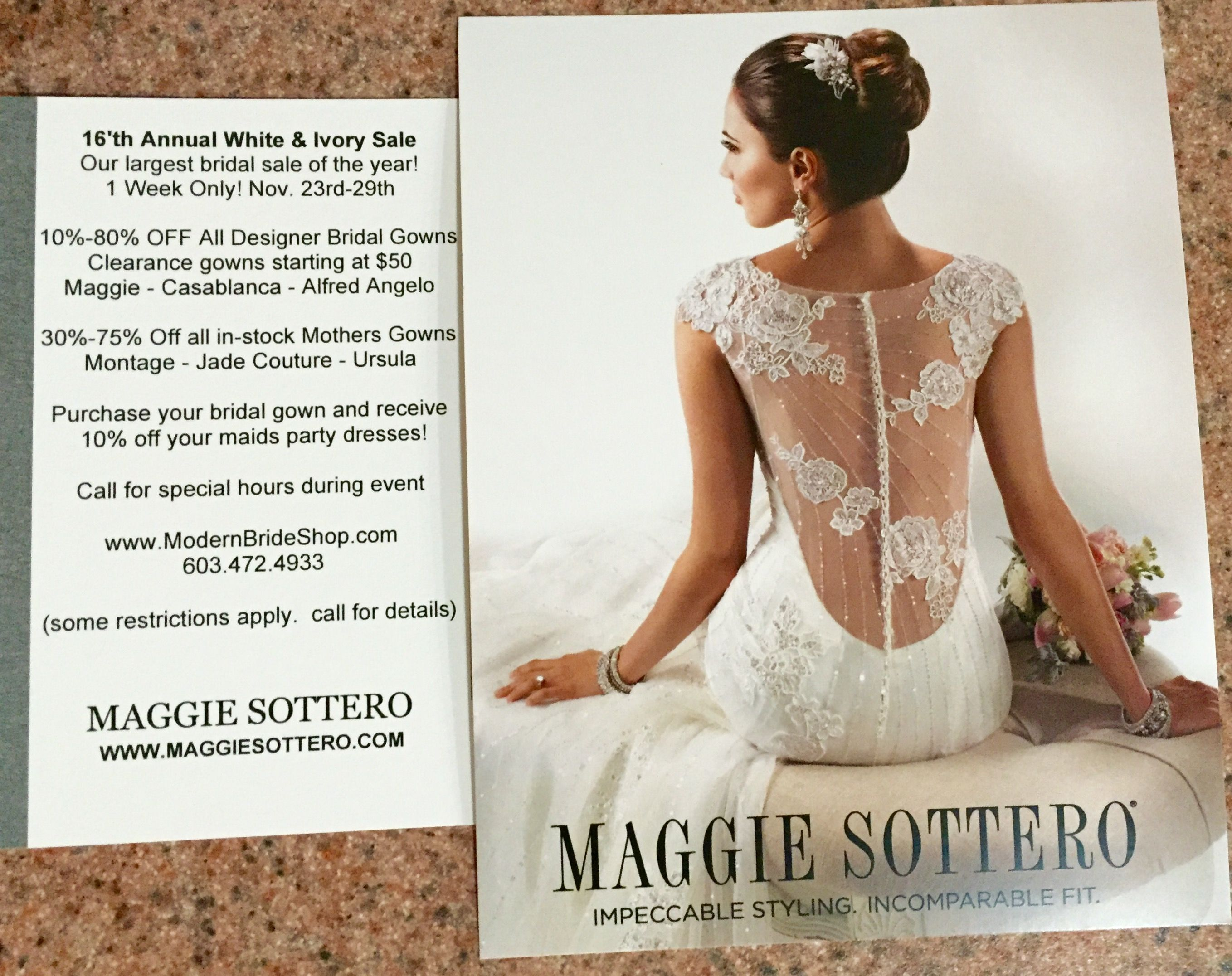 Modern Bride is celebrating Thanksgiving with our 16th Annual White ...