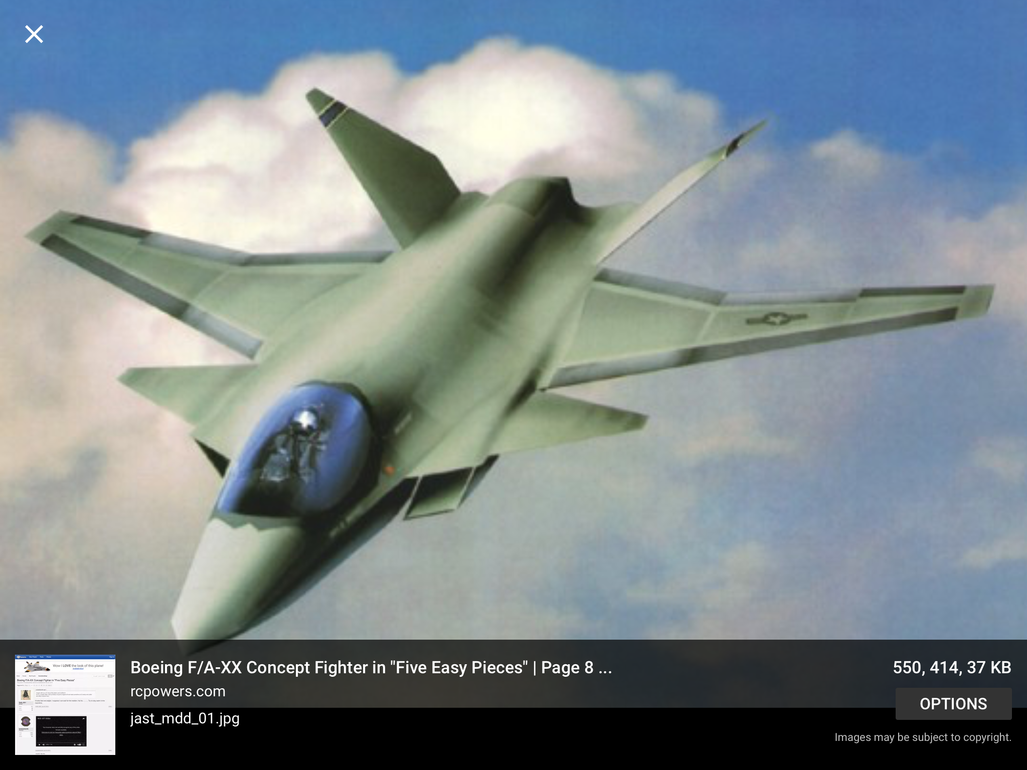 With the recent advances in technology and design aircraft concepts - Boeing F A Xx Fighter Concept