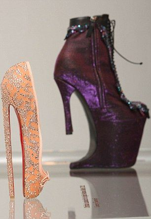 christian louboutin ballet high heels