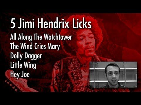 5 Far Out Jimi Hendrix Licks You Can Learn Right Now Guitar