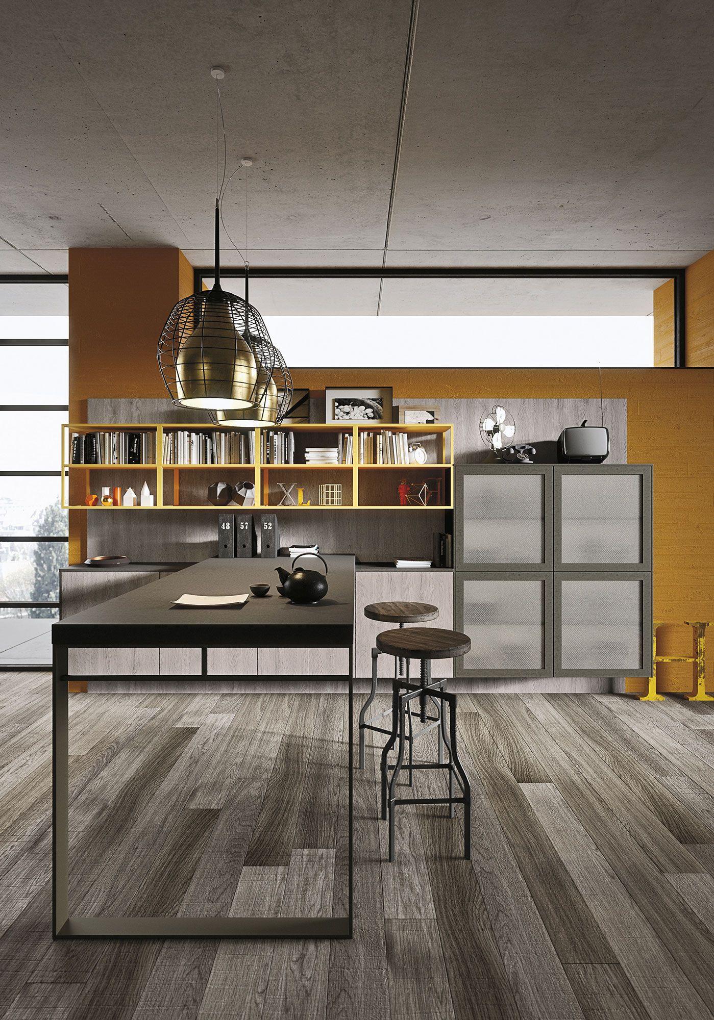 Loft | Snaidero | Bold Kitchens - Snaidero | Pinterest | Loft-küche ...