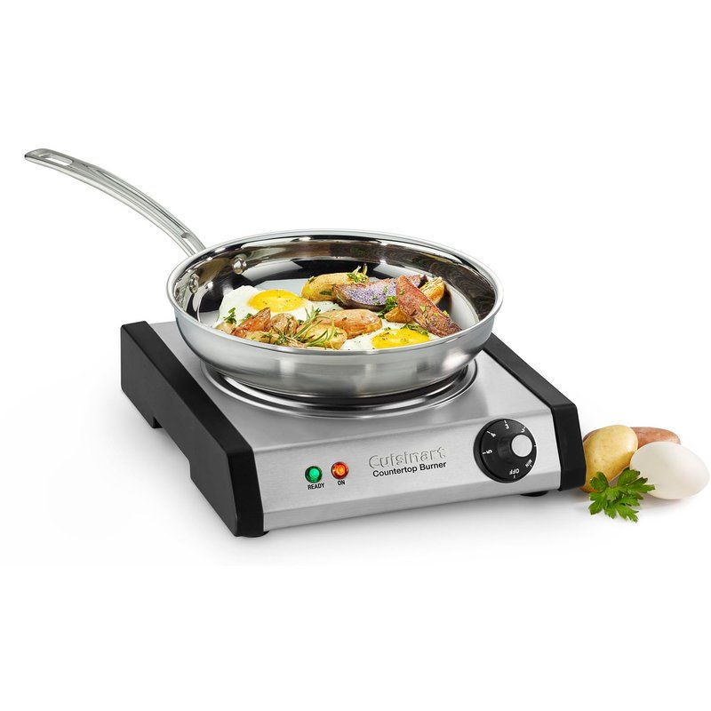 Cuisinart 2 Burner 8 In Cast Iron Hot Plate With Temperature
